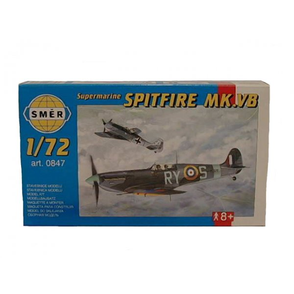 Směr Model 010847 Supermarine Spitfire MK.VB 1:72