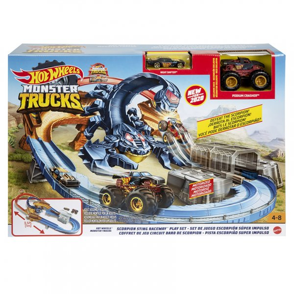 Mattel HW MONSTER TRUCKS ŠKORPION HERNÍ SET