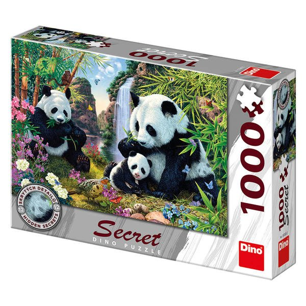 Dino PANDY 1000 secret collection Puzzle NOVÉ