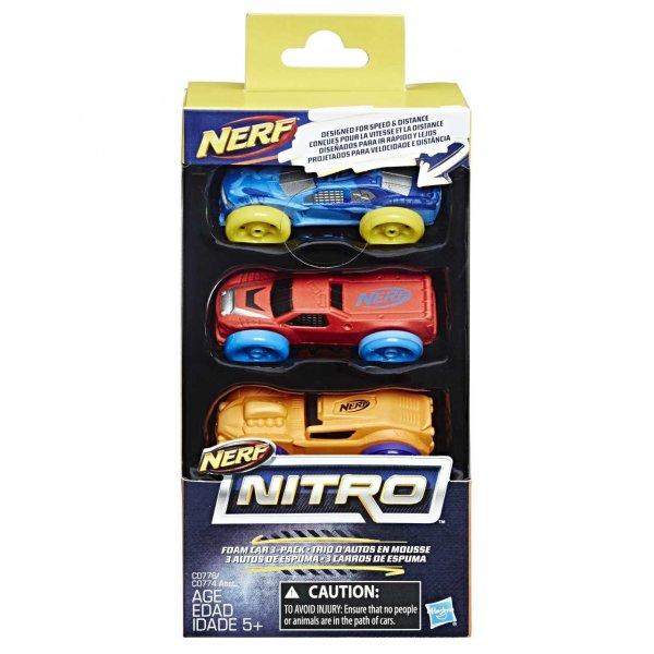 Hasbro Nerf Nitro náhradní nitro 3 ks asst